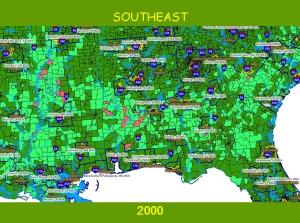 c Southeast